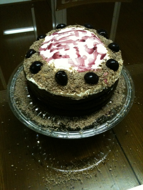 Black Forest Cake 2011 Bhaiya Uni Party 1