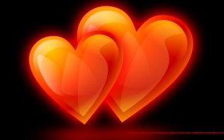 couple-of-hearts-of-flame-wallpaper-1280x800