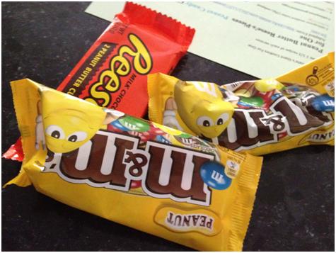 My secret, I mean, my normal peanut butter stash ;)