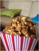 Vanilla Maple Caramel Popcorn: My Guest Post