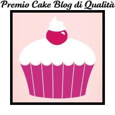 Premio Cake Blog di Qualita