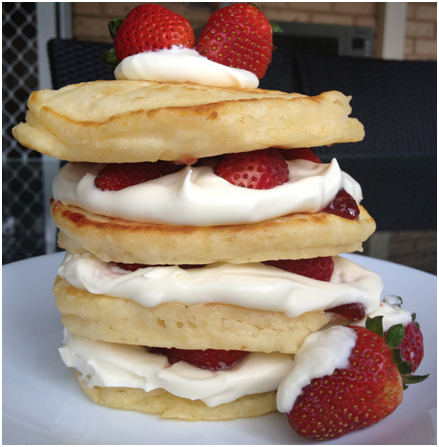 Victoria Sponge [Pan] Cake [Tower]