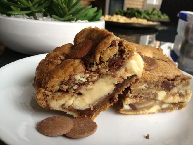 Cheesecake Chocolate Chip Cookie Sandwich