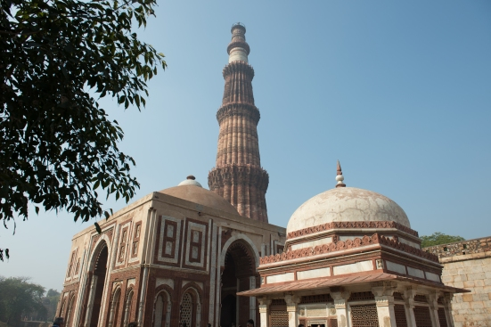 We visited the beautiful Qutub Minar - A beautiful structure, it is the tallest minaret in India and so majestic in real life :)