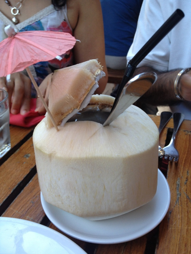Fresh Coconut Juice - $6