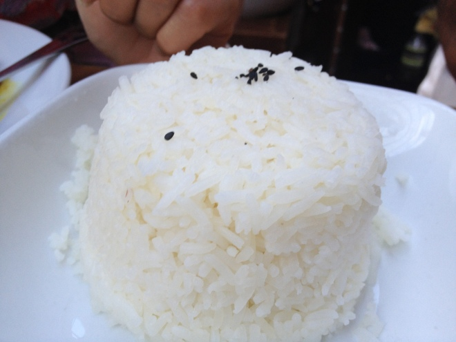 Steamed Jasmine Rice - $3 per person