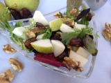 The Sexy Vegan Kitchen #1: Wistful Walnut-Pear Salad