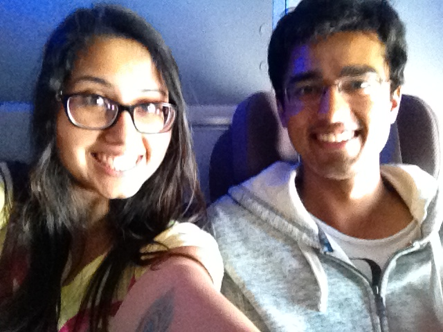 we are the coolest travellers... :P