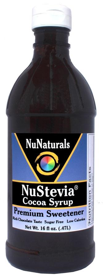 NuStevia Cocoa Syrup