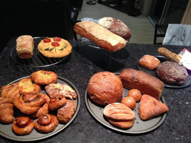 The breads that remain to be shared with you darlings!