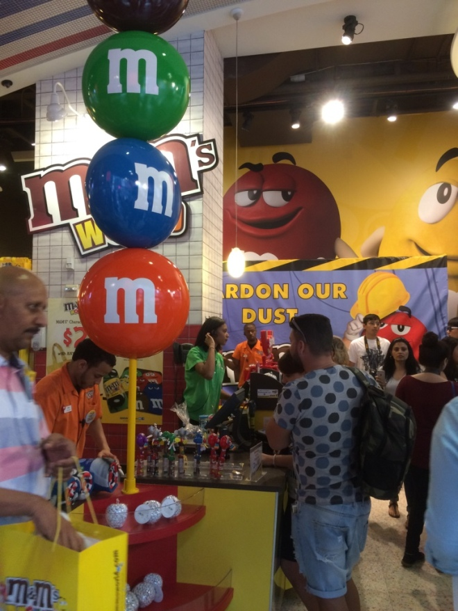 Yes... there is an actual M&M store - a GIGANTIC store in the middle of the city!