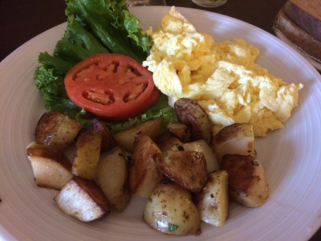 Home fries are the greatest <3